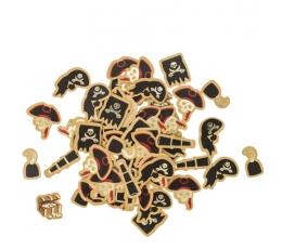 """Konfeti """"Pirāti"""" (100 gab./1,5 - 3 cm)"""