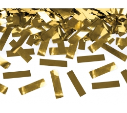 """Konfeti plaukšķene """"Zelta spīdums"""" (40 cm)"""