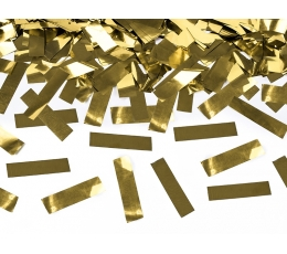 """Konfeti plaukšķene """"Zelta spīdums"""" (60 cm)"""