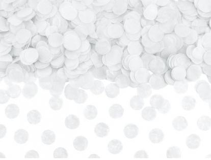 Konfettī, balti papīra (15 g.)