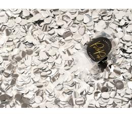 Konfettī plaukšķene, maza sudraba