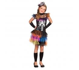 """Kostīms """"Krāsains skelets"""" (7-9 gadi)"""