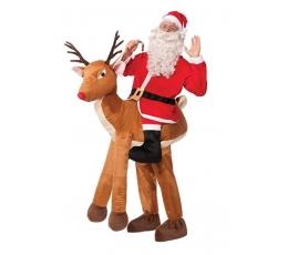 """Kostīms """"Rūdolfs un Ziemassvētku vecītis"""" (pieaugušajiem / universāls)"""