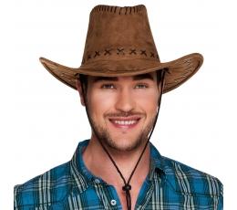 Kovboju cepure, brūna