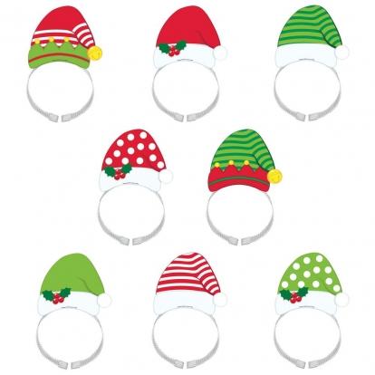 """Stīpiņas """"Ziemassvētku elfi"""" (8 gab)"""
