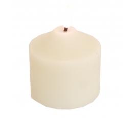 LED svece, balta (7,5x9,5 cm)