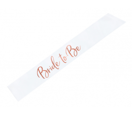 """Lente """"Bride to be"""", rozā - zelta (1gab.)"""
