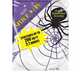 Lielizmēra zirnekļtīkls (60 g)