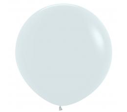 Liels balons, balts (60 cm)