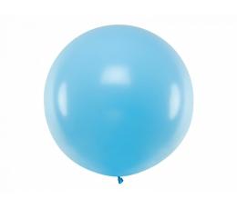 Liels balons, gaiši zils (1m)