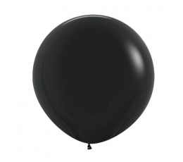 Liels balons , melns (60 cm)