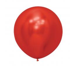 Liels balons, metalizēts sarkans  (60cm)