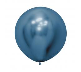 Liels balons, metalizēts zils (60cm)