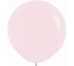 Liels balons, pasteļrozā (60 cm)