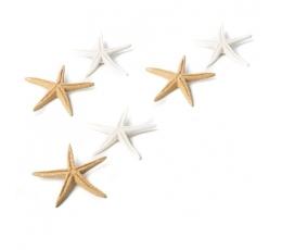"""Līmējamas 3D dekorācijas """"Jūŗas zvaigznes"""" 6 gab/ 6,5 cm)"""