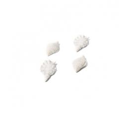 """Līmējami 3D rotājumi """"Gliemežvāki"""" (4 gab. / 7x4 cm)"""