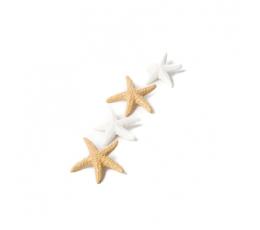 """Līmējami 3D rotājumi """"Jūras zvaigzne"""" (6 gab. / 4,5 cm)"""