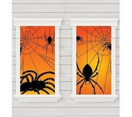 """Logu dekorācija - plakāti """"Zirnekļi"""" (2 gab/85 x165 cm)"""