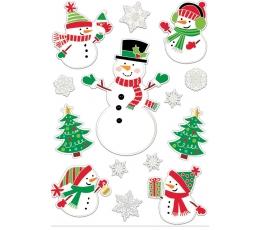 """Logu rotājumi-uzlīmes """"Sniegavīri"""" (14 gab.)"""
