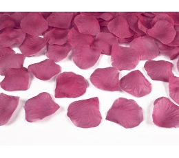 Mākslīgas rožu ziedlapiņas, rozā krāsā (500 gb)
