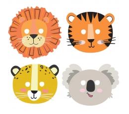 "Maskas ""Safari dzīvnieki"" (8 gab.)"