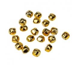 Mazie zvaniņi, zelta (20 gab. / 1,5 cm)