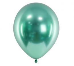 Metalizēts (chrome) balons, zaļš (30 cm)