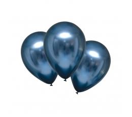 Metalizēts (chrome) balons, debeszils (30 cm)