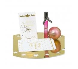 """Mini dāvanu maisiņi """"Zelta zvaigznītes"""" (10 gab)"""