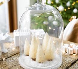 """Mini dekorācijas """"Ziemassvētku eglītes"""" (6 gab) 1"""