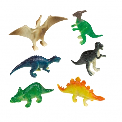 "Mini figūriņas ""Dinozauri"" (8 gab)"