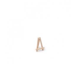 Mini statīvs - molberts, koka (10cm)