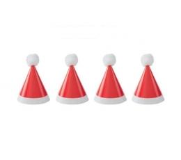 """Mini svētku cepurītes """"Salavecītis"""" (8gab)"""