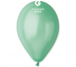 Mint krāsas, perlamutra  baloni (10gab / 28cm.)