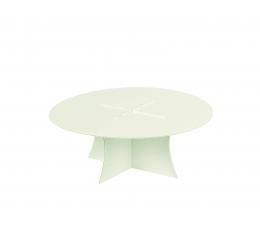 Paliktnis tortei, balts perlamutra (27X10 cm)