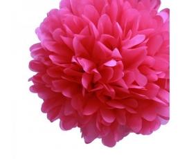 Papīra bumba, aveņu krāsas (2 gab./30 cm)