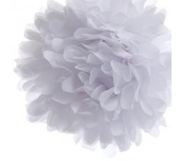 Papīra bumba, balta (2 gab./30 cm)
