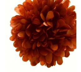 Papīra bumba, brūna (2 gab./19 cm)