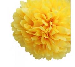 Papīra bumba, dzeltena (2 gab./30 cm)