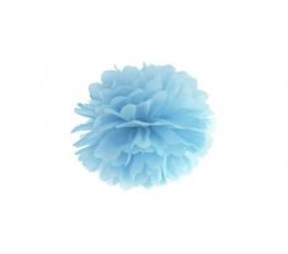 Papīra bumba, gaiši zils (25 cm)