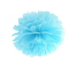 Papīra bumba, gaiši zils (35 cm)