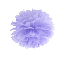 Papīra bumba, lillā (35 cm)