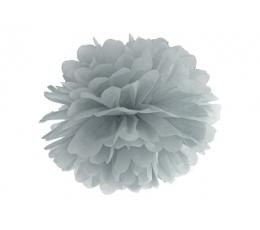 Papīra bumba, pelēks (35 cm)