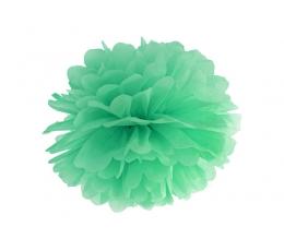 Papīra bumba, piparmētru krāsā (35 cm)