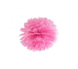 Papīra bumba, rozā (25 cm)
