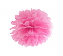Papīra bumba, rozā (35 cm)