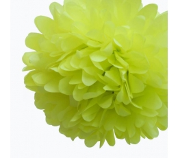 Papīra bumba, salātkrāsas (2 gab./30 cm)