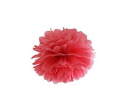 Papīra bumba, sarkans (25 cm)