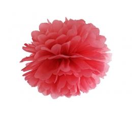 Papīra bumba, sarkans (35 cm)