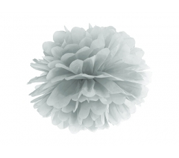 Papīra bumba, sudraba (35 cm)